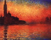 San Giorgio Maggiore at Twilight (Dusk in Venice), c.1908