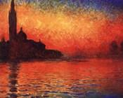 San Giorgio Maggiore at Twilight (Dusk in Venice), c.1908