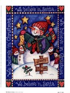 Debra Jordan Bryan - We Believe In Santa Size 5x7