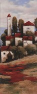 Red Roofs II - Detail
