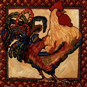 Provincial Rooster Red