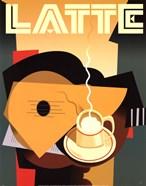 Cubist Latte