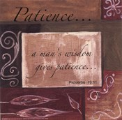 Words to Live By - Patience