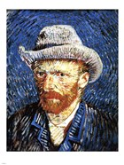 Self-Portrait with Grey Felt Hat, Paris, c.1887