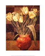 Checkered Tulips I