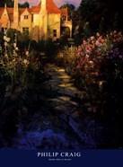 Garden Walk at Sunset