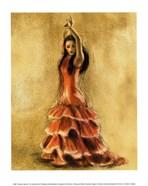 Flamenco Dancer I
