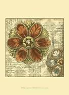 Mini Vintage Rosette I