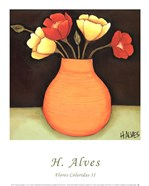 Flores Coloridas II
