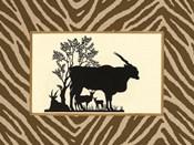 Serengeti Silhouette I