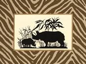 Serengeti Silhouette II