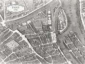 Plan Of Paris, 1730 (I)