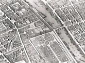 Plan Of Paris, 1730 (Iv)