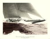 Mariner's Museum - Rainbow's Finish 1934 Vintage Maritime