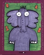 Animadoodle - Elephant Size 8x10