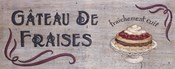 Gateau de Fraises