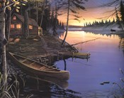 Canoe at the Cabin