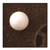 Sepia Golf Ball Study I
