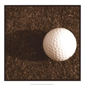 Sepia Golf Ball Study IV