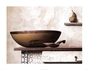 Bowl and Pear