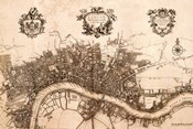 Plan of the City of London, 1720