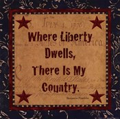 Where Liberty Dwells
