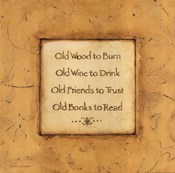 Old Wood To Burn