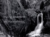 The Living Moment