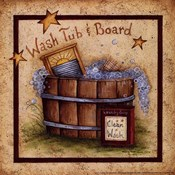 Wash Tub &amp; Board