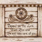 Depend on the Lord