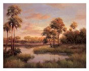 River Cove With Palms II