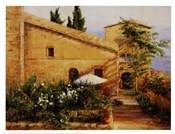 Tuscan Courtyard