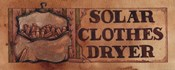 Solar Clothes Dryer