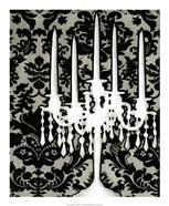 Patterned Candelabra I