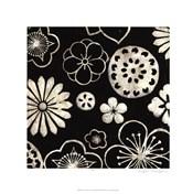 Silver Floral Cascade III