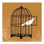 Birdcage Silhouette II