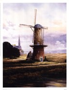 Francis Mastrangelo - Breeze Over Zeeland Size 13x17