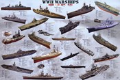 World War II War Ships