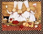 3 Chefs at Work