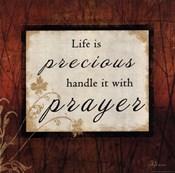 Life Is Precious - square