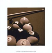 Pool Table II - Sepia