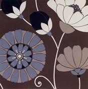 Chocolate Retro Floral