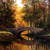 Stone Bridge Over Water