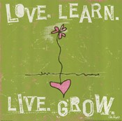 Love, Learn, Live, Grow