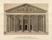 Ordonnance d'un Portique, (The Vatican Collection)