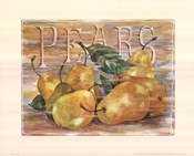 Fruit Stand Pears