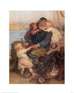 Fisherman with Children