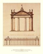 Alternate Design For Piazza di San Pietro, (The Vatican Collection)