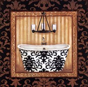 Black Veranda Bath I