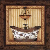 Copper Paisley Bath I